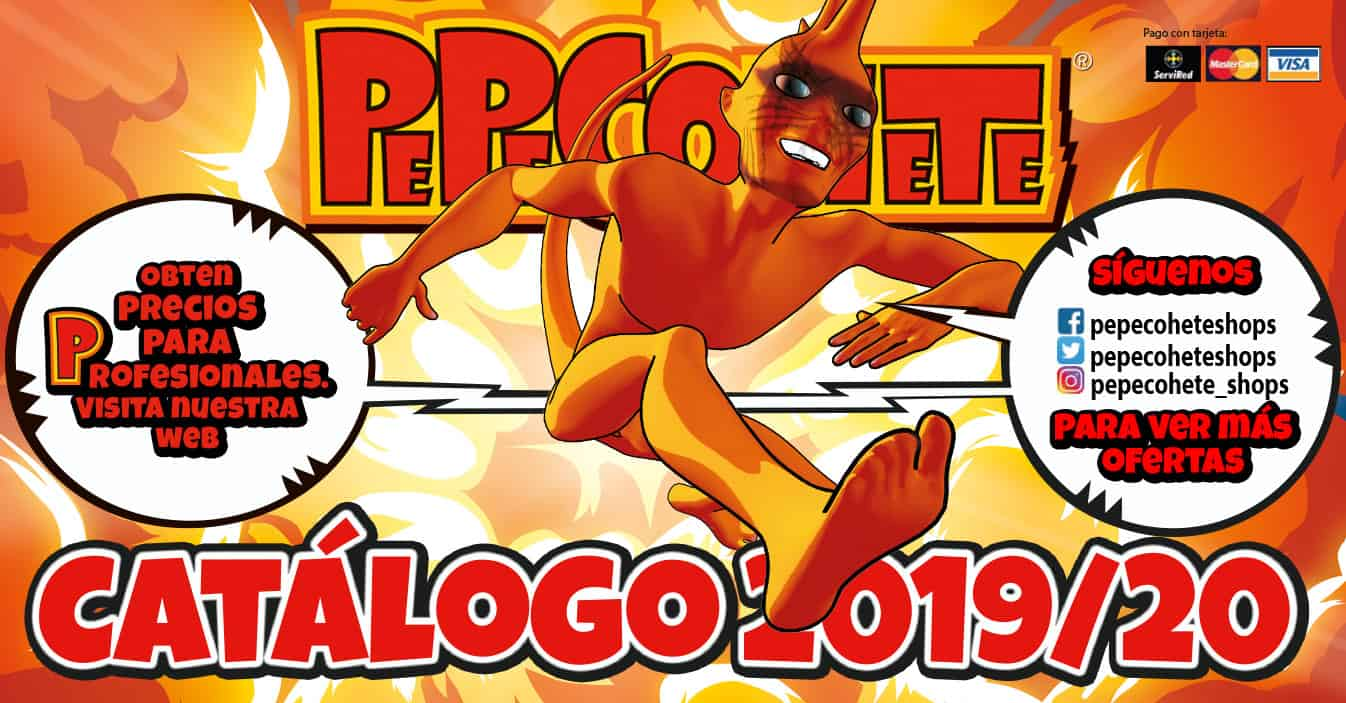 Catálogo PepeCohete 2019-2020
